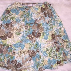Alfred Dunner Skirts - Pastel Floral Skirt by Alfred Dunner
